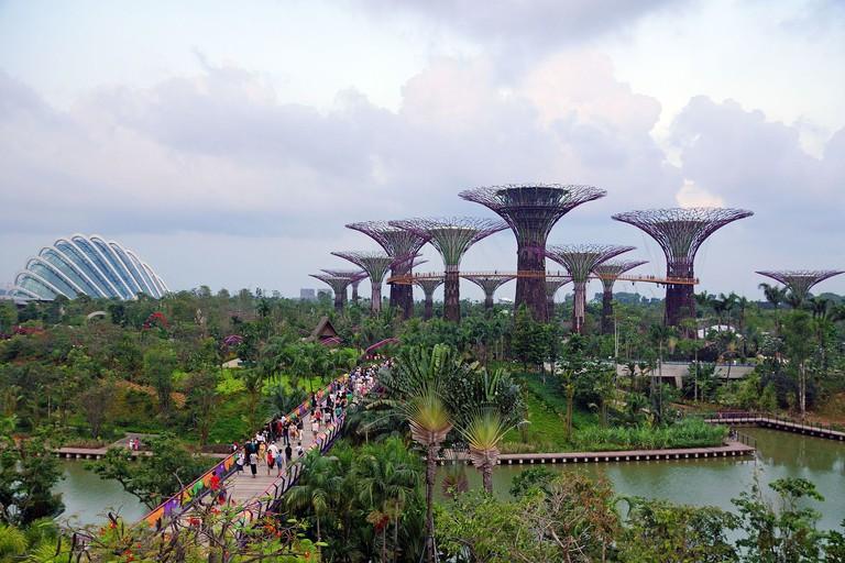 cidades sustentáveis - singapura
