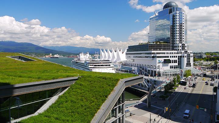 cidades sustentáveis - telhado verde em vancouver